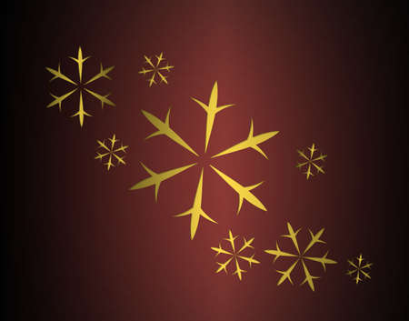 abstract red background of smooth gradient background texture cut out falling snow or snowflake elegant Christmas background  photo