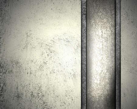 silver ribbon: silver gray Stock Photo