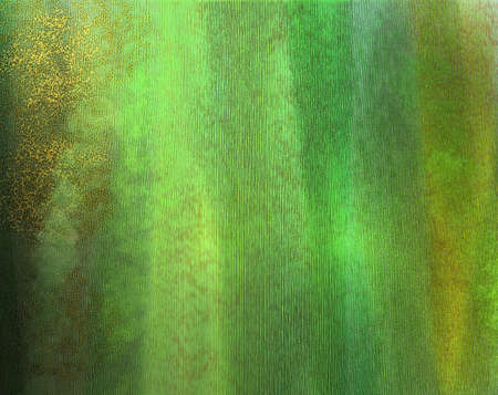 christmas watercolor: abstract green background Stock Photo