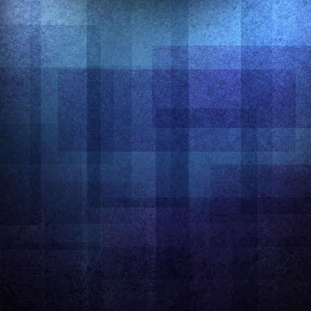 Abstrakte blaue Hintergrund Muster Design mit hellen und dunklen Blautönen und Vintage Grunge-Hintergrund Layout Grafik Material auf Broschüre Anzeigen oder Web-Template Hintergrund für künstlerisch kreativen Stil Standard-Bild - 16386085