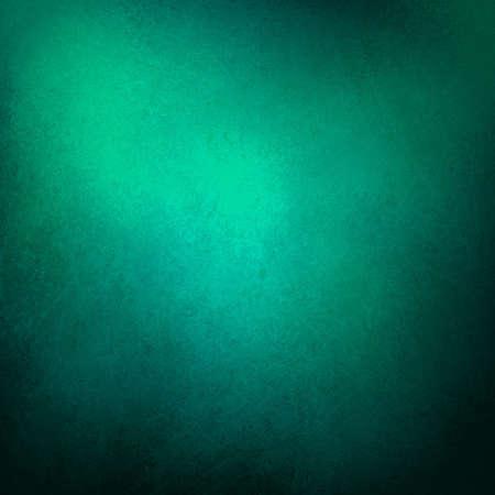 groene blauwe achtergrond met groenblauw zwart vintage grunge achtergrond textuur ontwerp met elegante antieke verf op de muur illustratie voor luxe papier of web achtergrond templates, abstracte achtergrond verf Stockfoto
