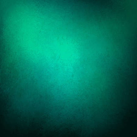 green blue background with teal black vintage grunge background texture design with elegant antique paint on wall illustration for luxury paper, or web background templates, abstract background paint  Banque d'images