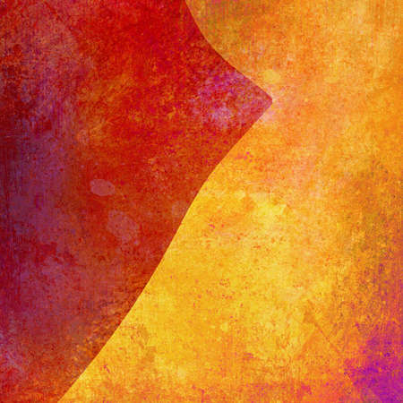 abstract orange background with gold and red Stock Photo - 16609728
