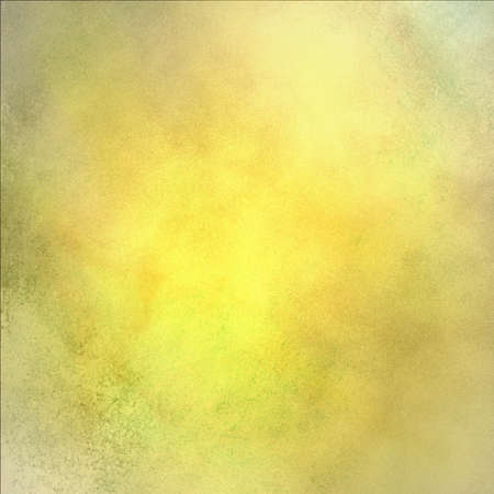 abstract gold background with elegant vintage grunge background texture of old cream white faded edges and center spotlight on elegant Christmas background or web template backdrop, yellow background  Stock Photo - 16713334