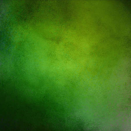 abstract green background or green paper, Christmas background with lots of rough distressed black vintage grunge background texture design, elegant blank copyspace for graphic art use or website Stock Photo - 16964037