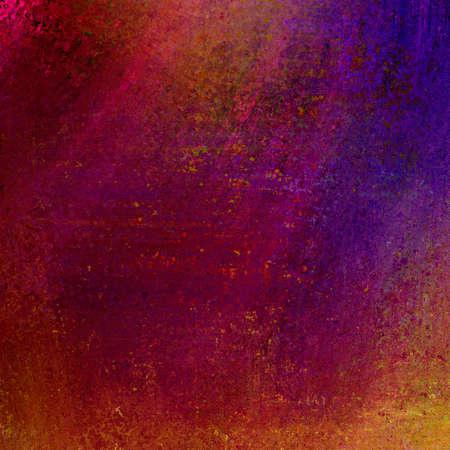 Abstrakte farbenfrohe Hintergrund Regenbogenfarben in verschmiert Regenwolken Design, chaotisch reichen vintage grunge background texture Layout in blau violett braun rot, rosa, gold, Hintergrund für Grafik-Designer Standard-Bild - 17096613