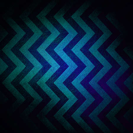 abstract chevron background zigzag pattern stripe lines in dark blue background on vintage grunge background texture canvas, old worn antique abstract background black border for web design banner photo