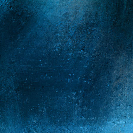 solid blue background abstract distressed antique dark background texture and grunge black edges on elegant wallpaper design, fancy painted background ad material with light blue backdrop color layout Stock Photo