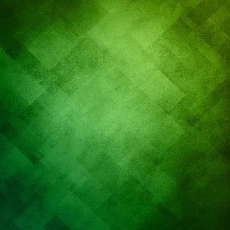 abstract green background image pattern design on old vintage grunge background texture, green paper diagonal block pattern with geometric shapes and line design elements, luxury background for web ad