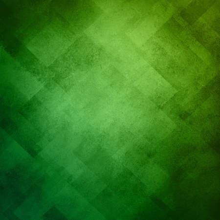 Conception abstraite verte motif de fond d'image sur la texture grunge vieux vintage background, green pattern bloc de papier en diagonale avec des formes géométriques et des éléments de conception de lignes, fond luxe pour ad web Banque d'images - 17231829