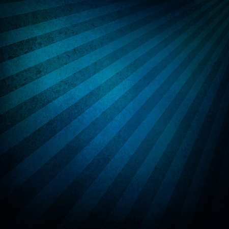 black blue background retro striped layout, sunburst abstract background texture grunge pattern, vintage grunge background sunrise design, old black border, bright colorful fun paper, blue color Stock Photo - 17231823