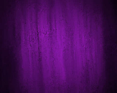 solid background: abstract purple background black design with black vintage grunge background texture color and bright lighting, purple paper wallpaper for brochure ad or website template background, elegant luxury Stock Photo