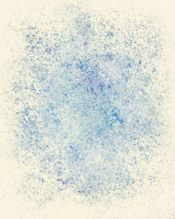 pale colours: abstract white background or blue background paper, frosty winter background illustration, snow or frost on window with blue sky showing, holiday Christmas background design for brochure or card cover