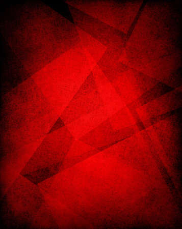 red background or red paper with old parchment vintage grunge background texture in art abstract background block layout design has faded distressed light background grungy shapes with black frame
