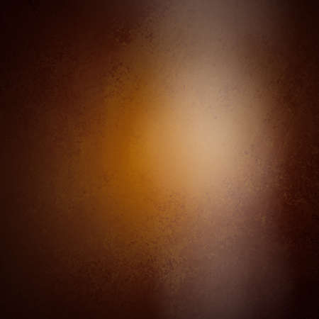 leathery: abstract brown background gold color, luxury smooth background texture leathery design with white spotlight glossy shiny blurred light image background, black border vintage grunge background texture
