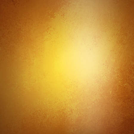 solid color: abstract gold background brown warm tone, luxury smooth background texture design with white spotlight for glossy shiny blurred light image, rich luxury yellow background, vintage grunge texture art