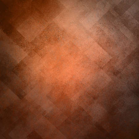 abstract orange background image pattern design on old vintage grunge background texture Stock Photo - 17960982