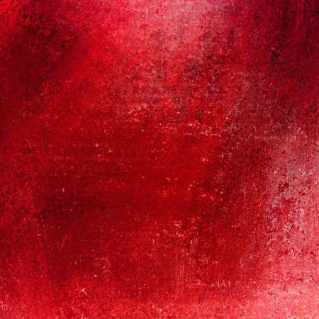solid red background abstract distressed antique dark background texture and grunge black edges on elegant wallpaper design, fancy painted background ad material with light red backdrop color layout Stock Photo - 17960994