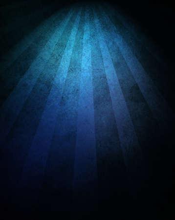 black blue background retro striped layout, sunburst abstract background texture grunge pattern, vintage grunge background sunrise design, old black border, bright colorful fun paper, blue color Stock Photo - 18083787
