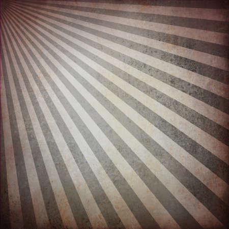 web side: Fondo abstracto gris a rayas con dise�o retro patr�n angustiada textura vendimia grunge de fondo para banner web dise�o de barra lateral, fondo blanco, negro, tono de color blanco y negro para la impresi�n, la salida del sol Foto de archivo