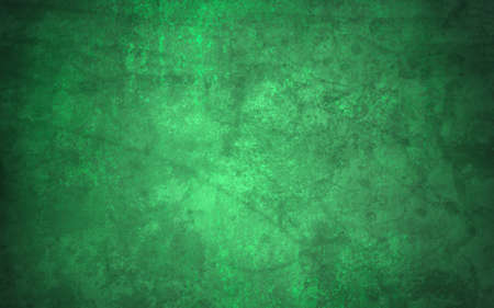 holiday background: abstract green background, old black vignette border or frame, vintage grunge background texture design, warm green color tone for Christmas or holiday, for brochures, paper or wallpaper, green wall