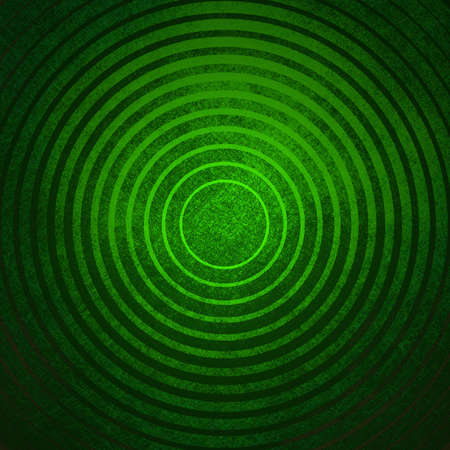 abstract green background with circle rings photo
