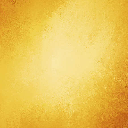 solid color: abstract gold background brown orange corners Stock Photo