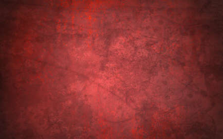 abstract red background of vintage grunge background texture design of elegant antique paint on wall for holiday Christmas background paper; or web background templates; grungy old background paint Stock Photo - 18399032