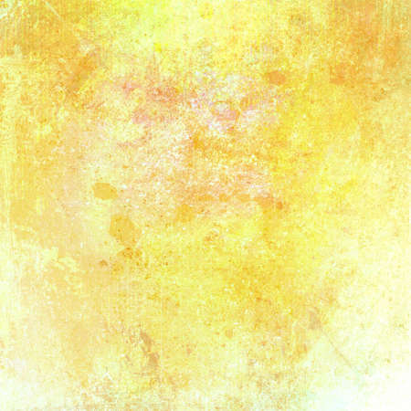 yellow gold and white background abstract paint design photo