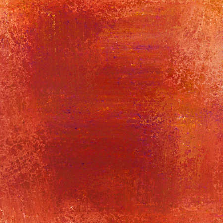 abstract red orange background of vintage grunge background texture design of elegant antique paint on wall for holiday Christmas background paper; or web background templates; grungy old background paint Stock Photo - 18433105