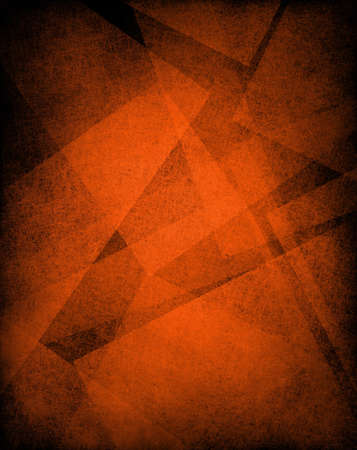 orange background or orange paper with old parchment vintage grunge background texture in art abstract background block layout design Stock Photo - 18516546