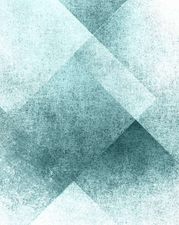 grunge layer: abstract blue background or white background paper of old parchment canvas texture or vintage grunge background texture design, blue paper block or rectangle layers in graphic art design for brochure