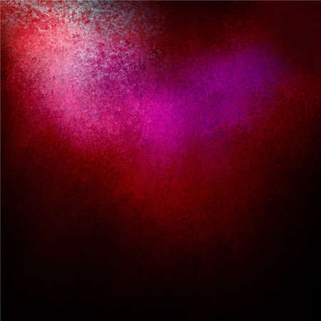 abstract black background pink purple spotlight or color splash Stock Photo - 18622090