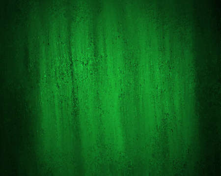 abstract green background with old black vintage grunge background texture elegant green wallpaper or paper, green holiday Christmas background or web design template for Irish background layout ad Stock Photo - 18916065