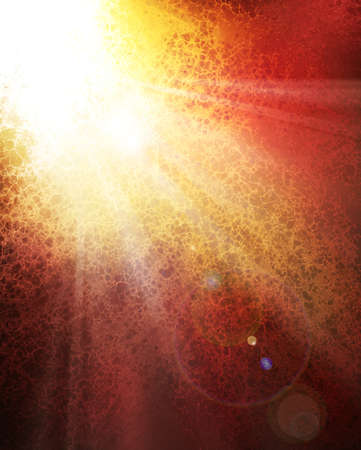abstract sunburst background design concept of sun bursting through the clouds or a message from heaven, bright white color splash or spot with white rays of sun beams spreading down, lens flare  photo