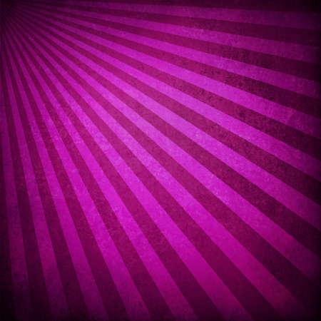 purple pink background retro striped layout, sunburst abstract background texture pattern, vintage grunge background sunrise design, old black border, bright colorful fun paper, valentine background Stock Photo - 18916055