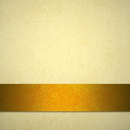 witte achtergrond of lichte bruine achtergrond of papier van vintage achtergrond textuur en goud of koper oranje lint voor de herfst Thanksgiving achtergrond aankondiging of val Halloween web template