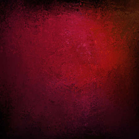 solid background: abstract red background of black border on vintage grunge background texture layout design of dark color background on light distressed old faded canvas material for web template background or grungy