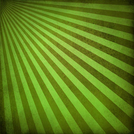 brown green background retro striped layout, sunburst abstract background texture pattern, vintage grunge background sun ray design old faded summer background with natural eco colors for rich paper Stock Photo - 19048454