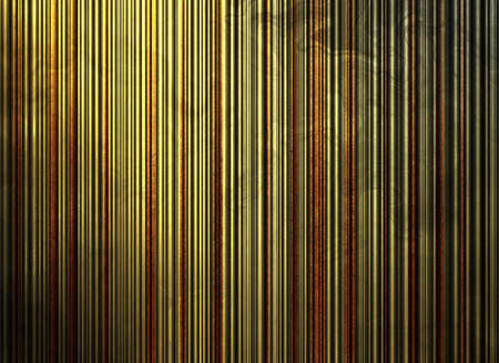 abstract stripe background pattern wallpaper of yellow distressed vintage grunge background texture surface of rustic gold red background metal tin illustration grungy dark background material for web illustration