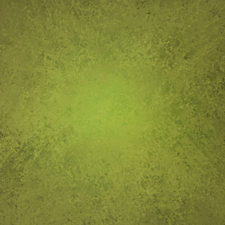olive green: olive green background elegant design with vintage grunge background texture layout or green paper stationary or book cover of solid blank abstract paint wall or wallpaper for web background template Stock Photo