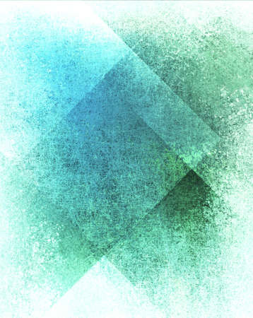abstract blue background or green background, white paper with old parchment art background block layout design on paper with vintage grunge background texture, elegant blue green paper for web design