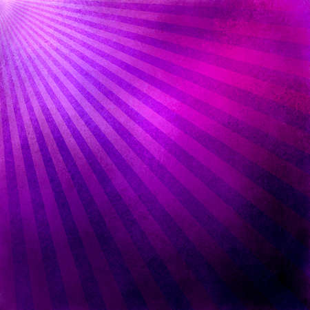 purple pink background retro striped layout, sunburst abstract background texture pattern, vintage grunge background sunrise design, old black border, bright colorful fun paper, pink purple blue color Stock Photo - 19279734