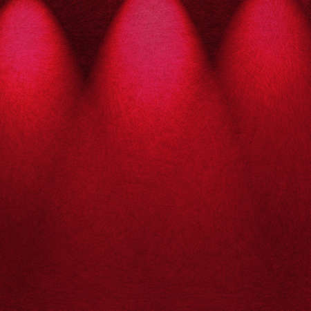 limelight: pink red background spotlight design with dramatic stage lighting illustration for theater or concert poster ad or brochure announcement, abstract background art  Stock Photo