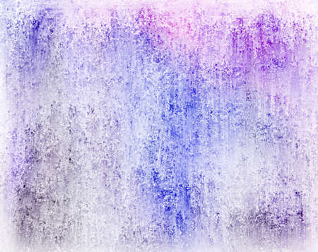abstract colorful background with white vintage grunge background texture faded with soft blotchy colors of blue purple and pink in watercolor layout design for brochure ad or website template  Stock Photo - 19281155