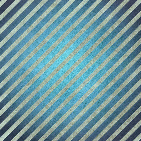abstract blue background white stripes, with vintage grunge background texture design for brochure layout, background has black diagonal line design elements for website design background template photo