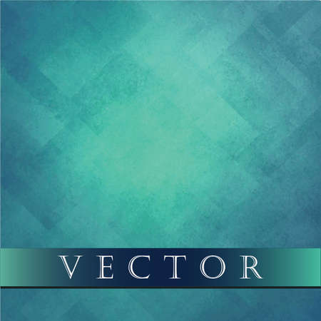 light blue background vector, abstract design, retro grunge background texture Easter layout of diamond element pattern and bright center, sky blue or baby blue teal color, background template design website  Vettoriali