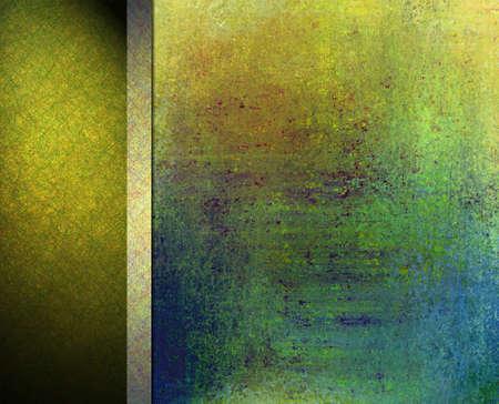 web side: abstracta de colores de fondo de dise�o de dise�o, vintage grunge textura de fondo, el oro fondo verde azul, centro, rojo, naranja, cinta del oro, verde negro bandera barra lateral de fondo o plantilla de la bandera del Web