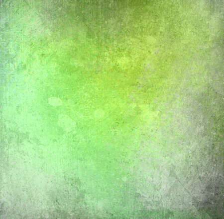 cool background: abstract green background yellow color, light cool background vintage grunge background texture, gray white stain spatter or color splashes, background design for old distressed messy brochure or web