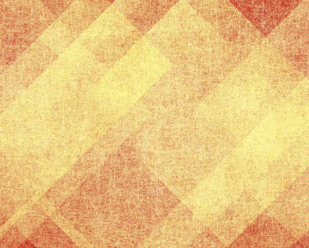abstract red background or yellow beige background of old parchment grunge texture, layers of light gold background block layout design on paper with vintage grunge background texture, red paper